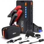 TACKLIFE T6 Booster Batterie - 800A 18000mAh Portable Jump Starter, Démarrage de Voiture ( Jusqu'à 6.5L Essence 5.5L Gazole )